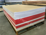 Het witte Duidelijke Transparante AcrylBlad van de Kleur/Raad Plexiglass/PMMA