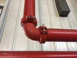 Guarnición y acoplador dúctiles del surco del hierro para el sistema de protección contra los incendios