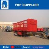 タイタンの手段-輸送のための半半40のTの格子位置のトレーラーの貨物塀のトレーラー