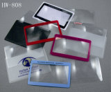 Carte portative Card Fresnel Lens Magnifier for Promotion Gift (HW-808)