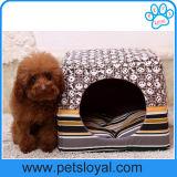 Base dobrada fabricante da casa do gato do cão de filhote de cachorro do animal de estimação