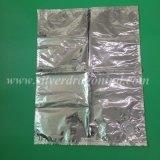 Bolso de aluminio del babero de la bebida en rectángulo con el canalón