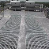 Pisadas Grating de acero galvanizadas de la cubierta/de escalera de /Drainage (fábrica)
