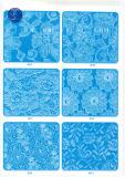 De niet Elastische Stof van het Kant voor Kleding/Kledingstuk/Schoenen/Zak/Geval M120 (breedte: 8cm)
