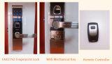 Bloqueo de puerta incombustible resistente teledirigido de Digitaces de la huella digital del grado