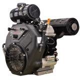 21kw二重シリンダーおよび4打撃が付いている空気によって冷却されるガソリン機関2V90f