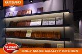 최신 판매 순수한 백색 광택 있는 페인트 부엌 찬장