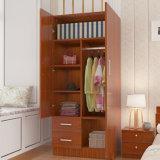 De nieuwe Houten Garderobe van de Slaapkamer van de Melamine (de prijs van de Fabriek)