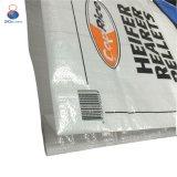 Sac tissé par pp de la qualité 25kg 50kg pour l'alimentation, graine, riz