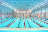 Extensão longa telhado galvanizado da tampa de frame de aço para a grande extensão da piscina
