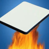 Il PE PVDF rende incombustibile il materiale composito di alluminio del comitato