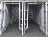 1219*1930 a galvanisé/système peint d'échafaudage de portique