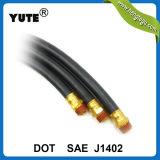 SAE J1402 Yute 3/8 de polegada a mangueira de freio a ar de automóveis da marca