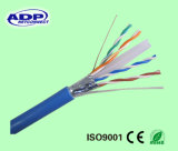 Qualität SFTP CAT6 4pairs 23AWG 0.56mm LAN-Kabelnetzwerk-Kabel
