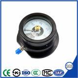 Manomètre de pression de contact électrique Explosion-Proof remplis d'huile de silicone