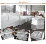 تصميم حديث لمعان عال بيضاء مطبخ أثاث لازم خزائن