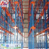 Для тяжелого режима работы склада, утвержденном CE стали для установки в стойку для хранения