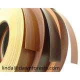 中国の木カラーPVC家具の端バンディング