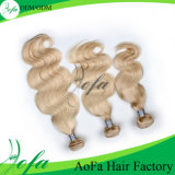 Fashion를 위한 좋은 Color Blond Human Virgin 영국 Hair Wigs