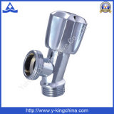 Válvula de ângulo de latão com pega de plástico (YD-5011)