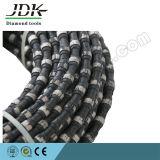 El alambre del diamante de corte del concreto reforzado vio