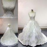 Vestido de casamento nupcial por atacado Z11125 do vestido de China
