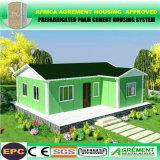Estructura de acero prefabricados prefabricados modulares bastidor Contenedor de la construcción de Casa Villa