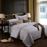 Hotel Hotel de Jacquard de ropa de cama Ropa de cama con la línea de bordado