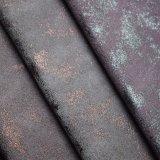 Poliertes Faux-Leder-Polsterung-Polyurethan-Gewebe für Schuh-Beutel