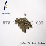 Ck 216 SmCo 자석 급료 F2.1*2.1*1mm