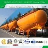 3 Aanhangwagen van het Cement van de as de Bulk/het BulkVervoer van het Cement/de Aanhangwagen van de Bulk-carrier van het Cement/Semi Aanhangwagen van de Tank van het Poeder de Materiële