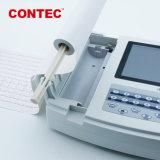 ECG de Contec1200g de 12 derivaciones de máquina de electrocardiograma ECG Digital Ce