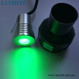 1W CREE LED LED haute puissance lampe souterrain W/ww/R/G/B IP65