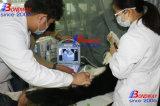 高リゾリューションのLED表示、超音波スキャン機械、USGの携帯用獣医の超音波、運転される電池が付いている専門の獣医の超音波のスキャンナー