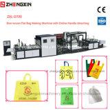 Zxl-D700 niet Geweven Zak die Machine met de Beste Zak maken die van de Doos van de Prijs Machine met Handvat maken
