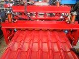 Покрасьте стальной крен двойного слоя профиля толя формируя машину