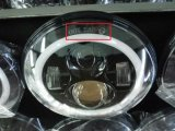 de 7 LEIDENE '' Koplampen DRL van de Auto voor Jeep Wranlger Tj Jk Hummer