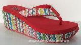 Damas Confort zapatos de tacón alto zapatillas (516-9842)
