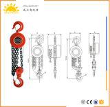 Baumaterial-anhebende Maschinen-Hebevorrichtung-Ketten-allgemeine industrielles Geräten-Handkettenhebevorrichtung-niedriger Preis-Kettenhebevorrichtung