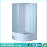 5 mm de vidrio templado espacio para duchas (LTS- 8827)