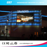 P8高い明るさのために屋外のフルカラーの固定LED表示スクリーンを広告するBstの高リゾリューション