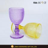 パイナップル形のワイングラスの中国の風のステッカーデザイン