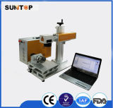 20W Rotary Fiber Laser Marking Machine 또는 Round Tube Laser Marking Machine