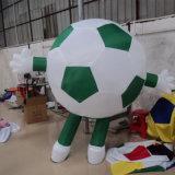 Pubblicità del fumetto ambulante di gioco del calcio gonfiabile