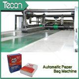 Bolso de papel de artesanía de impresión Flexo totalmente automático que hace la máquina
