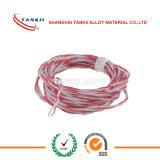 Красный и белый кабель компенсации термопары SC