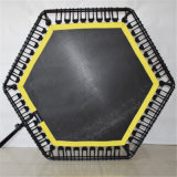 Top de linha da aptidão aeróbica populares trampolim com pega Adjustabel Bar