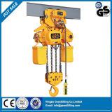 Type de chariot de palan à chaîne électrique 10 tonnes
