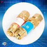 Rückblende-Überspannungsableiter-Sauerstoff-Acetylen-Rückschlagventil für den Druckminderer-Schneidbrenner, der Einheit mildert