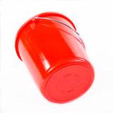 Plastikeimer/Trommel/Wanne/Zylinder mit Griff u. Schutzkappen in hochwertigem